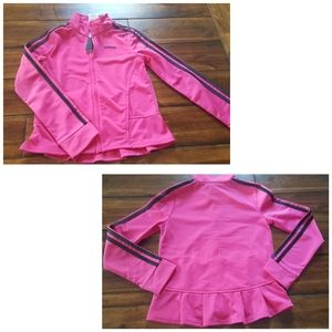 Adidas Track Suit  Zip Front Flared Waist